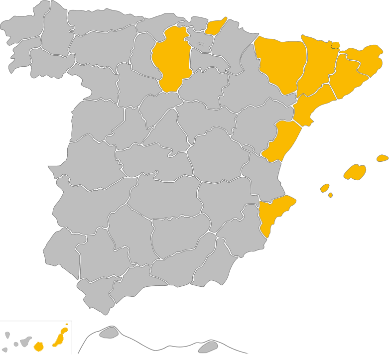 Mapa distribuidores Ironside